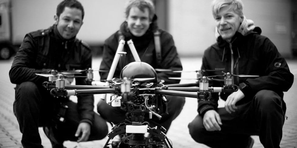 Red EPIC Drone