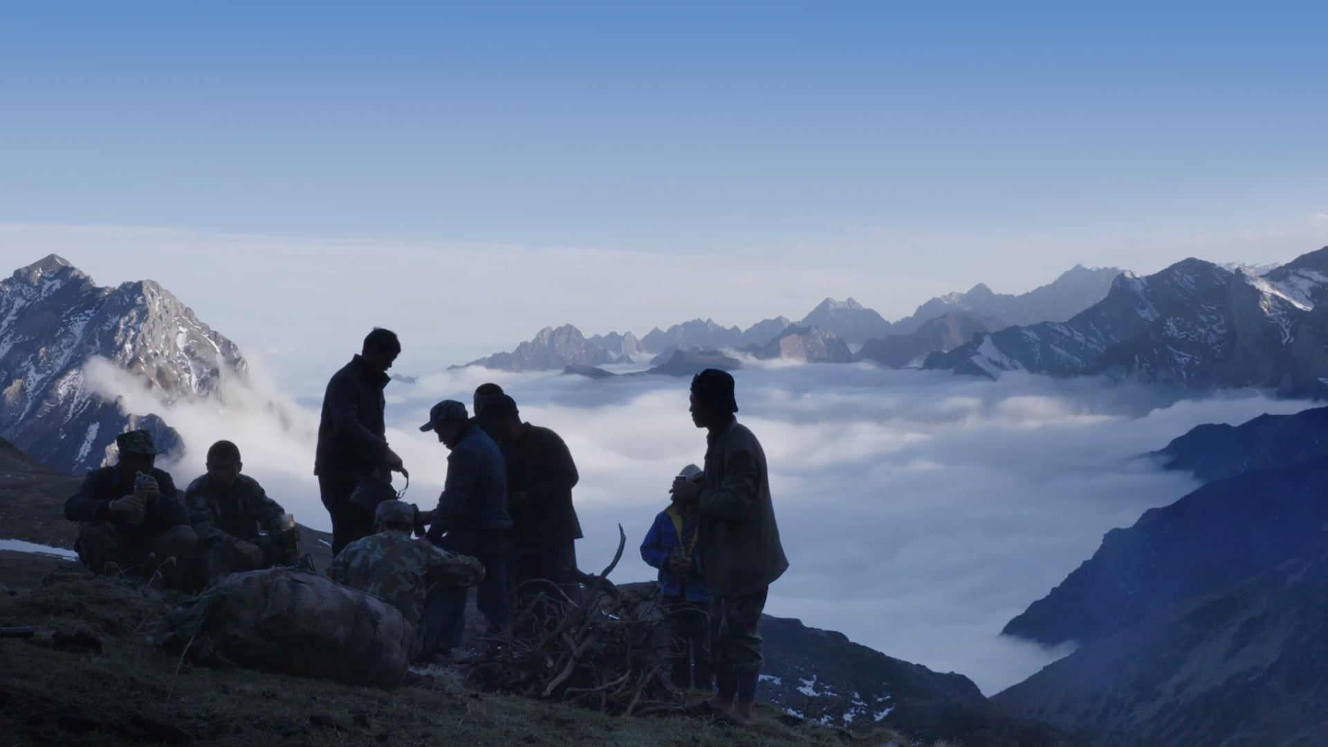 The people above the clouds 1