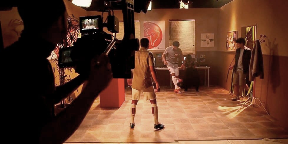 Making of Moneygram PSG ad